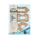 Spellbinders - Art Nuveau Collection - Shapeabilities Die - Style Nouille Tags