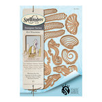 Spellbinders - Art Nuveau Collection - Shapeabilities Die - Nouveau Sea Life