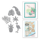 Spellbinders - Wild and Free Collection - Shapeabilities Die - Tropics