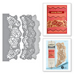 Spellbinders - Rouge Royale Deux Collection - Dies - Camellia Border