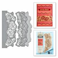 Spellbinders - Rouge Royale Deux Collection - Dies - Camellia Border