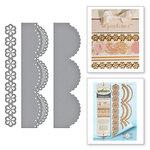 Spellbinders - Graceful Borders Collection - Card Creator - Die - Graceful Scallops