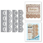 Spellbinders - Graceful Borders Collection - Card Creator - Die - Graceful Fans