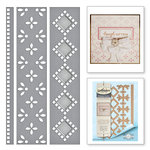 Spellbinders - Graceful Borders Collection - Card Creator - Die - Graceful Eyelets