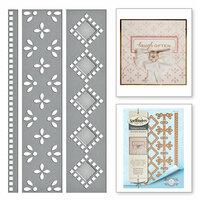 Spellbinders - Graceful Borders Collection - Card Creator - Die - Graceful Eyelets