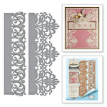 Spellbinders - Graceful Borders Collection - Card Creator - Die - Graceful Damask