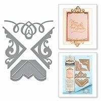 Spellbinders - Graceful Borders Collection - Card Creator - Die - Graceful Corners One