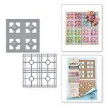 Spellbinders - Celebrate the Day Collection - Shapeabilities Dies - Layered Tile