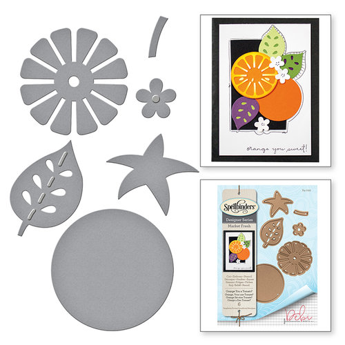 Spellbinders - Market Fresh Collection - Dies - Orange You a Tomato