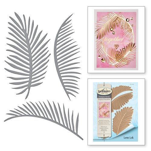 Spellbinders - Tropical Paradise Collection - Dies - Palm Fronds