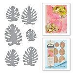 Spellbinders - Tropical Paradise Collection - Dies - Monstera Leaves