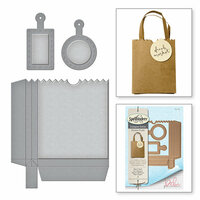 Spellbinders - Market Fresh Collection - Dies - Bag 'n Tag It