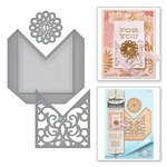Spellbinders - Vintage Elegance Collection - Dies - Filigree Pocket