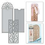 Spellbinders - Vintage Elegance Collection - Dies - Filigree Bookmark -Tag