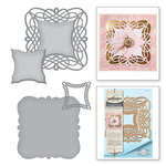 Spellbinders - Vintage Elegance Collection - Dies - Braided Grace Square