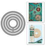 Spellbinders - The Altered Page Collection - Etched Dies - Loop De Loop