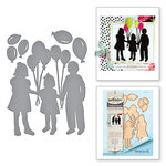 Spellbinders - Joyous Celebrations Collection - Dies - Balloon Kids