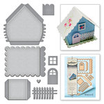 Spellbinders Joyous Celebrations Build A House Dies