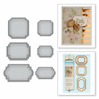 Spellbinders - Nesting Dies - Foundational Tags