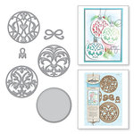 Spellbinders - Holiday Collection - Christmas - Shapeabilities Dies - Gilded Ornaments