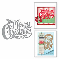 Spellbinders - Holiday Collection - Christmas - Shapeabilities Dies - Merry Christmas
