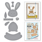 Spellbinders - My Little Red Wagon Collection - Dies - Some Bunny