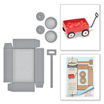 Spellbinders - My Little Red Wagon Collection - Dies - Little Red Wagon
