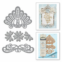 Spellbinders - Venise Lace Collection - Dies - Isadora Trinkets