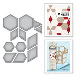 Spellbinders - Quilt-It Collection - Dies - Hexagon