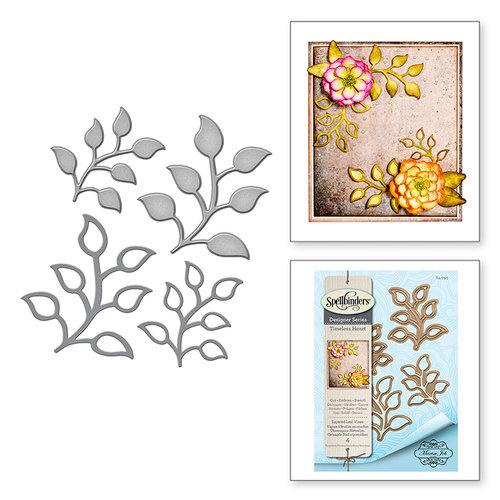 Spellbinders - Timeless Heart Collection - Shapeabilities Dies - Layered Leaf Vines