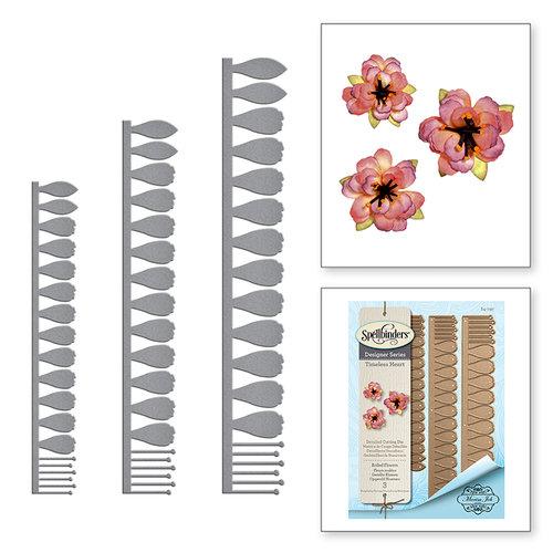 Spellbinders - Timeless Heart Collection - Shapeabilities Dies - Rolled Flowers