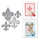 Spellbinders - Ooh La La Collection - Shapeabilities Dies - Fleur de France