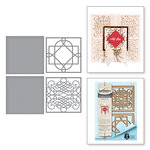 Spellbinders - Ooh La La Collection - Shapeabilities Dies - Calligraphy Flourish Tiles