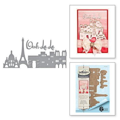 Spellbinders - Ooh La La Collection - Shapeabilities Dies - Paris Skyline