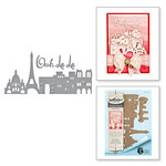 Spellbinders - Ooh La La Collection - Shapeabilities Dies - Paris Skyline