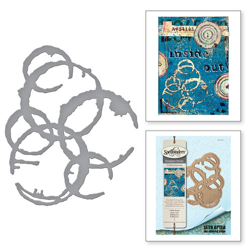 Spellbinders - The Altered Page Collection - Etched Dies - Coffee Break