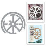 Spellbinders - The Altered Page Collection - Etched Dies - Spokes