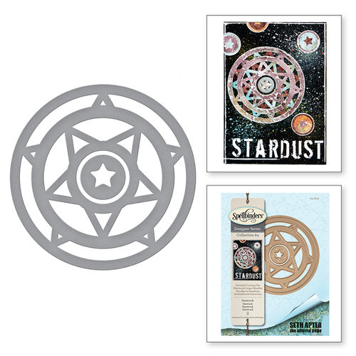 Spellbinders - The Altered Page Collection - Etched Dies - Starstruck