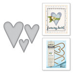 Spellbinders - Happy Grams 4 Collection - Shapeabilities Dies - Prim Hearts
