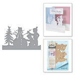 Spellbinders - Holiday Collection - Christmas - Shapeabilities Dies - Building a Snowman