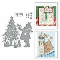 Spellbinders - Holiday Collection - Christmas - Shapeabilities Dies - Deck the Halls