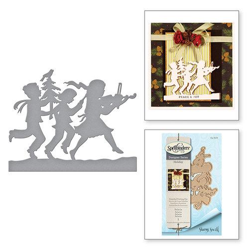 Spellbinders - Holiday Collection - Christmas - Shapeabilities Dies - Fa La La