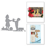 Spellbinders - Holiday Collection - Christmas - Shapeabilities Dies - For You