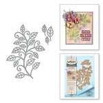 Spellbinders - Thoughtful Expressions Collection - Etched Dies - Mosaic Vine