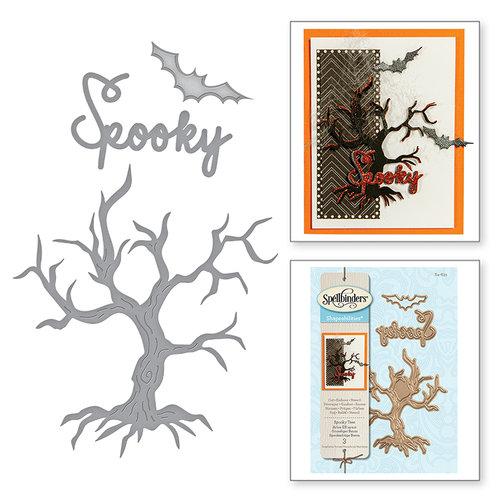 Spellbinders - Holiday Collection - Halloween - Shapeabilities Dies - Spooky Tree