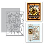 Spellbinders - Holiday Collection - Halloween - Shapeabilities Dies - Spider Web Card Front