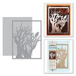 Spellbinders - Holiday Collection - Halloween - Shapeabilities Dies - Tree 'n Web