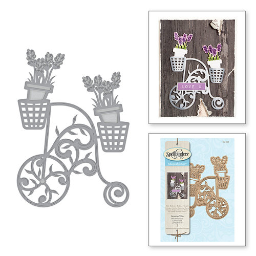 Spellbinders - Shapeabilities Die - Lavender Trike