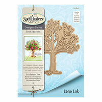 Spellbinders - Four Seasons Collection - Etched Dies - Four Seasons Tree