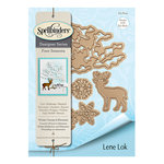 Spellbinders - Four Seasons Collection - Etched Dies - Winter Canopy and Elements